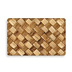 Bungalow Flooring 23-Inch x 36-Inch Neoprene Rugs in Basket Case