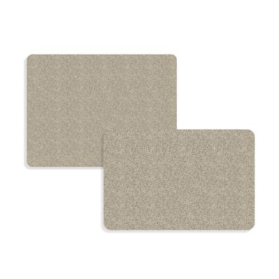 Bungalow Flooring DirtStopper Small Rug in Brown