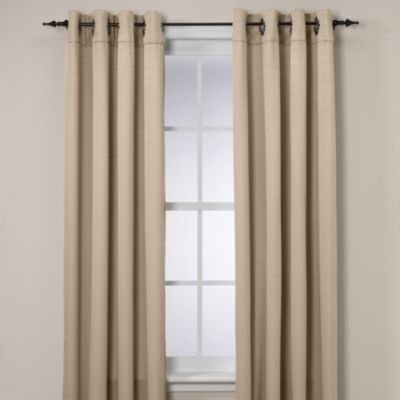 Insola® Odyssey Grommet Top 84-Inch Insulating Window Curtain Panel in Beige