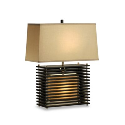 Buy etagere wood lamp from bed bath beyond for Etagere floor lamp bed bath and beyond