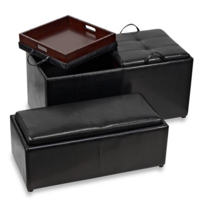 Atelier Oversized Ottoman plus Additional Storage Bench
