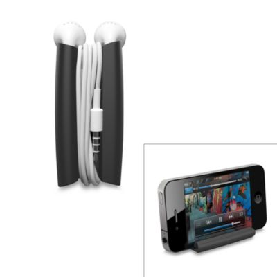 Quirky® Wrapster Headphone Cord Organizer in Charcoal