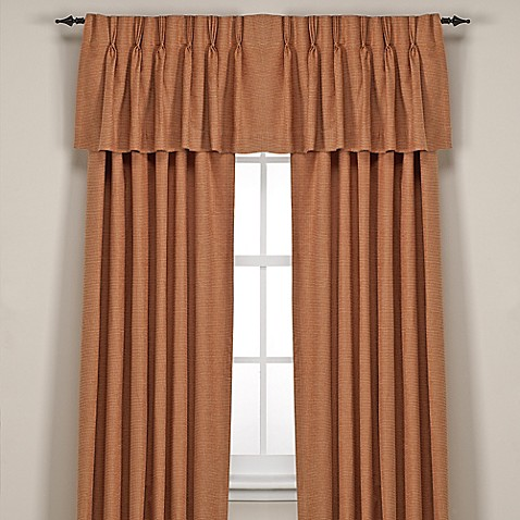 Union Square Pinch Pleat Window Curtain Panel And Valance