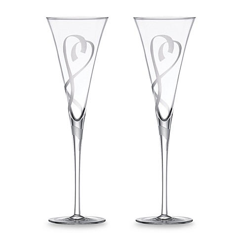 Lenox True Love 6-Ounce Flutes (Set of 2)