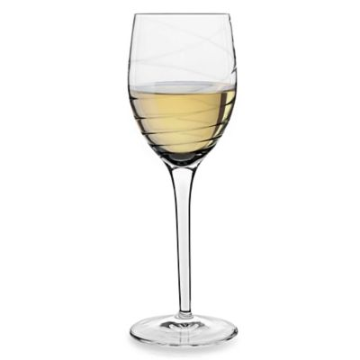 Luigi Bormioli Romantica Sparkx 9 1/2-Ounce White Wine Glasses (Set of 4)