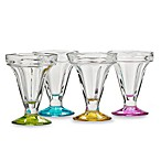 Libbey® Colors Sundae Set (Set of 4)
