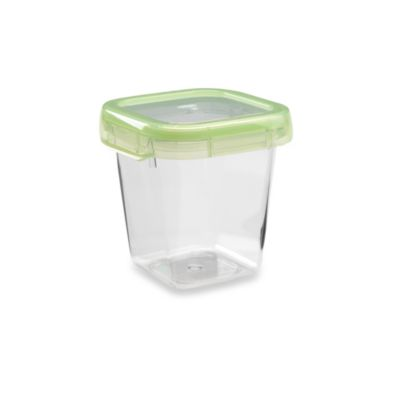 OXO Good Grips® Green 2.5-Cup Square LockTop Container