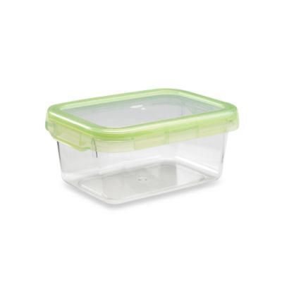 OXO Good Grips® Green 3.8-Cup Rectangular LockTop Container