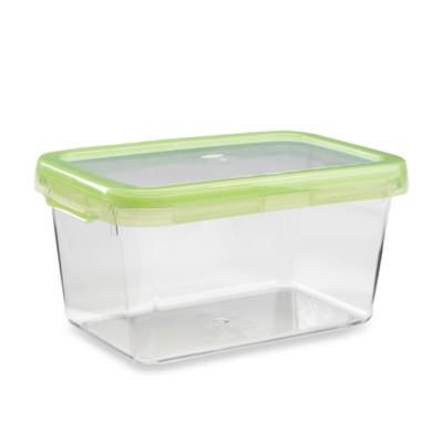 OXO Good Grips® Green 9.3-Cup Rectangular LockTop Container
