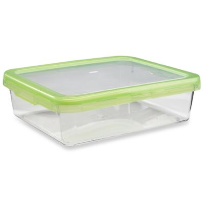 OXO Good Grips® Green 12.7-Cup Rectangular LockTop Container