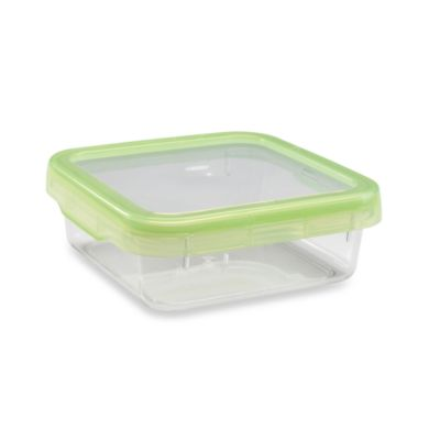 OXO Good Grips® Green 3.8-Cup Square LockTop Container