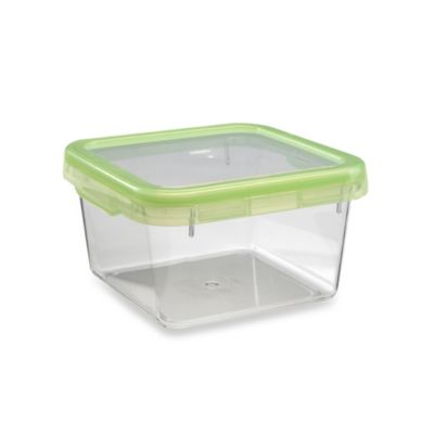 OXO Good Grips® Green 6.3-Cup Square LockTop Container