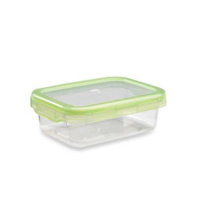 OXO Good Grips® Green 2.8-Cup Rectangular LockTop Container