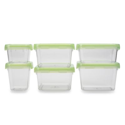 OXO Good Grips® 12-Piece Green LockTop Container Set