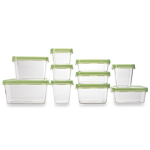 OXO Good Grips® 20-Piece Green LockTop Container Set