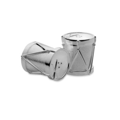 Towle® Silverplated Drum Set Salt & Pepper Shakers