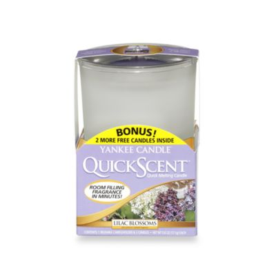 Yankee Candle® QuickScent™ Quick Melting Candle Kit in Lilac Blossom