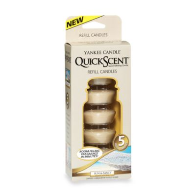 Yankee Candle® QuickScent™ Quick Melting 5-Candle Refill Pack in Sun & Sand