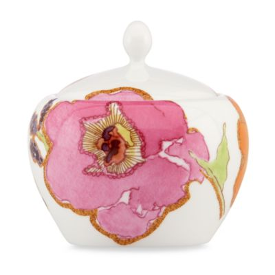 Lenox® Floral Fusion Covered Sugar Bowl