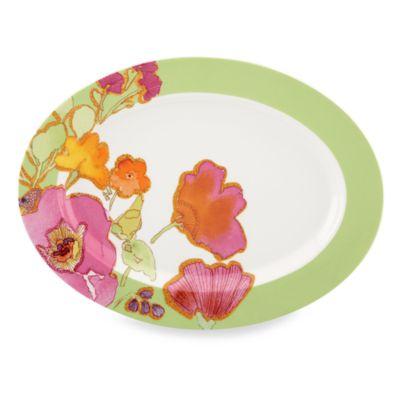 Lenox® Floral Fusion Kiwi Oval Platter