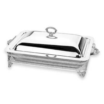 Reed & Barton® Silverplate 2-Quart Oblong Covered Baker / Casserole