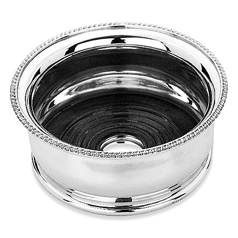 Reed & Barton®  Silverplate Deep-Bellied Wine Coaster