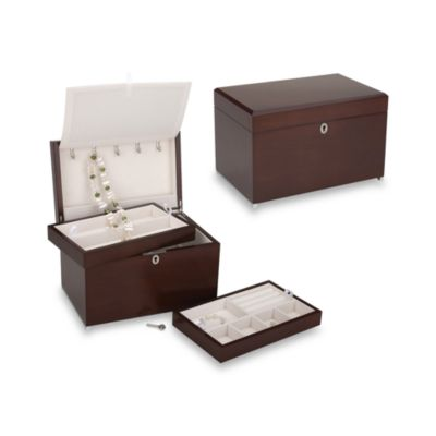 Reed & Barton® Haley Jewelry Chest in Walnut