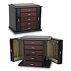Reed & Barton®  Diva Jewelry Chest in Dark Mahogany