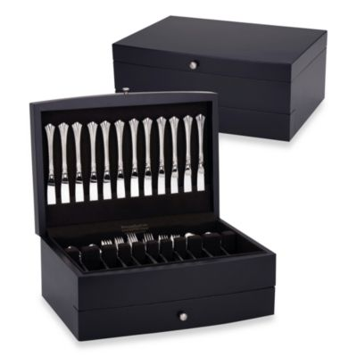 Reed & Barton® Falmouth Flatware Chest in Dark Espresso Brown