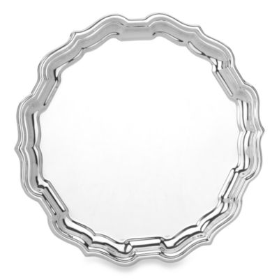 Reed & Barton 10-Inch Sterling Silver Chippendale Tray
