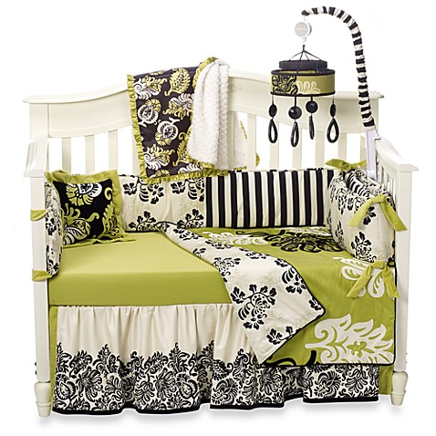 Cocalo harlow 4 piece crib bedding and accessories for Harlowe bed