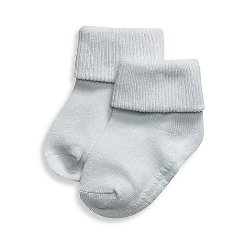 Be Basic™ Size 0-6M Non-Skid Socks in Blue