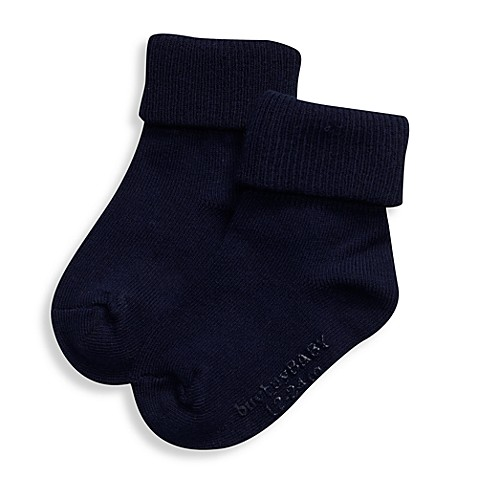 BE Basic™ 0 - 6M Non-Skid Socks in Navy