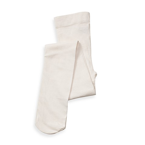 BE Basic™ 0 - 6M Cotton Rich Tights in Ivory