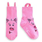 EZ Sox® Children's Learning Socks in Pig