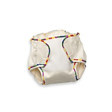 Biobottoms™ Classic Natural Wool Cloth Diaper Cover in Rainbow