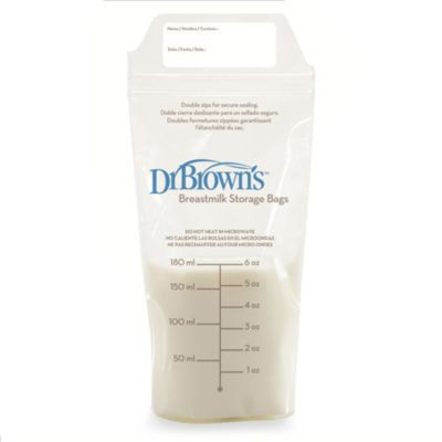 Dr. Brown's® 25-Count Breastmilk Storage Bags