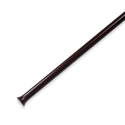 Umbra® Chroma Bronze 24-Inch - 36-Inch Drapery Tension Rod