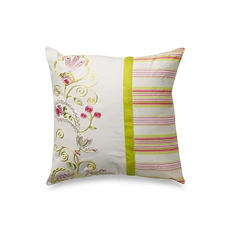 Dena Home Moroccan Garden 16 Inch Square Toss Pillow