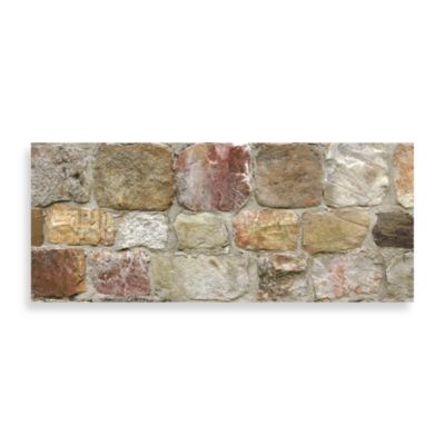 Bungalow Flooring 25-Inch x 60-Inch Neoprene Runners in Rock Wall