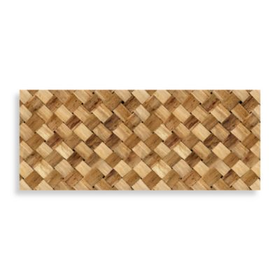 Bungalow Flooring 25-Inch x 60-Inch Neoprene Runners in Basket Case