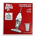 Dirt Devil® Dust Cup Replacement Filter for Power Stick® and Jaguar® Stick Vacuums
