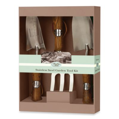 Moulton Mill Stainless Steel Garden Tool Kit