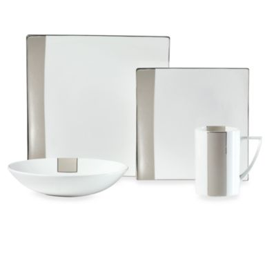 Mikasa® Shimmer Square 4-Piece Dinnerware Place Setting