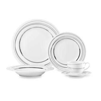 Mikasa® Silver Spheres 5-Piece Place Setting