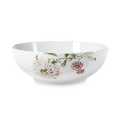 Mikasa® Silk Floral Pink 9-Inch Vegetable Bowl