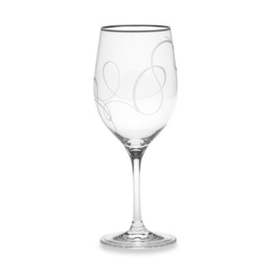 Mikasa® Love Story Platinum 16 3/4 Oz. Goblet Glass
