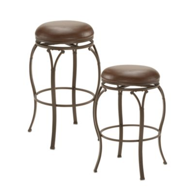 Hillsdale Watson 24-Inch Stool in Brown