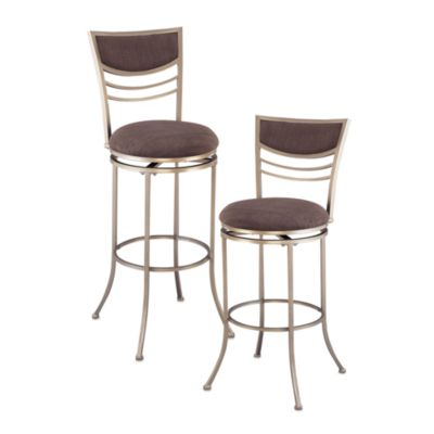 Hillsdale Amherst 24-Inch Stool in Champagne
