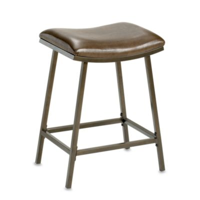 Hillsdale Hazelton Saddle Stool